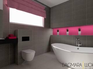 PROJEKTY Nowoczesna łazienka od Design & Home Staging Dagmara Wołoszyn Nowoczesny