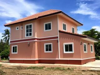 บ้านพักสองชั้น:  บ้านและที่อยู่อาศัย by หจก.เครือรุ่งโรจ