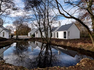 Award winning contemporary house in Co Antrim Modern houses by Jane D Burnside Architects Modern