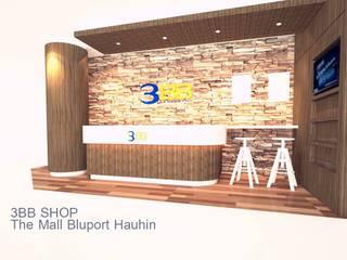 3BB SHOP The Mall Bluport Hauhin โดย PKK group เมดิเตอร์เรเนียน