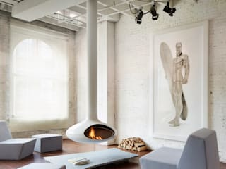 Soho Penthouse: modern Living room by SA-DA Architecture