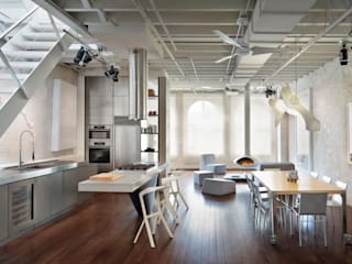 Soho Penthouse: modern Kitchen by SA-DA Architecture