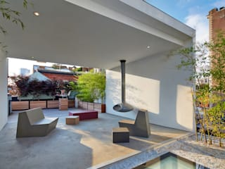 Terrace by SA-DA Architecture, Modern