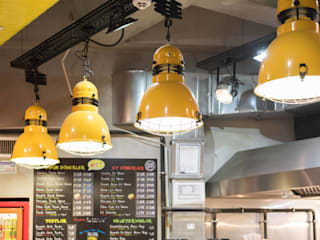 Restaurants de style  par oğuzhan aydoğdu iç mimarlık, Rustique
