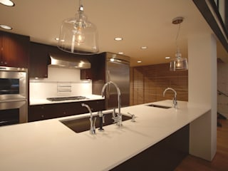 Peabody Loft and Studio:  Kitchen by SA-DA Architecture