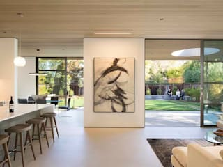 The Lantern House Modern Corridor, Hallway and Staircase by Feldman Architecture Modern