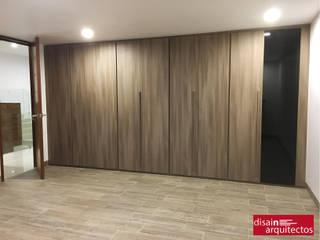 更衣室 by disain arquitectos