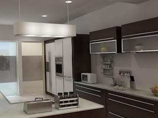 RESIDENTIAL PROJECT:  Kitchen by ABHISHEK DANI DESIGN,