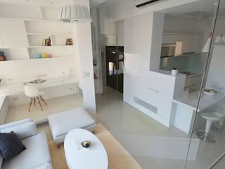 瓦悅設計有限公司의  거실