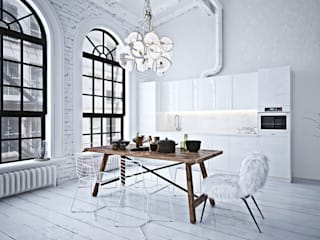 Kitchen by GM-interior, Industrial