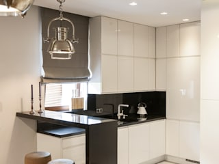 Mieszkanie na Mokotowie: styl , w kategorii Kuchnia zaprojektowany przez FusionDesign