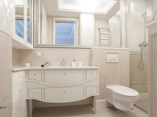 Mieszkanie na Mokotowie: styl , w kategorii Łazienka zaprojektowany przez FusionDesign