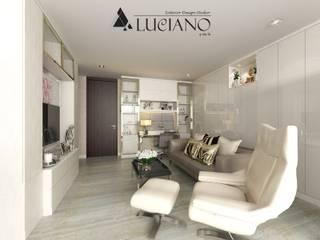 ตกแต่งภายใน Condo (Duplex) 2 ชั้น โดย luciano design studio