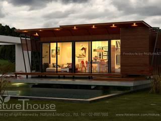 บ้านสำเร็จรูป Life Box Series โดย บริษัท เนเจอร์แอนด์เทรนด์ จำกัด