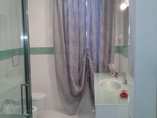bagno moderno, contemporaneo zinesi design Bagno moderno Grigio