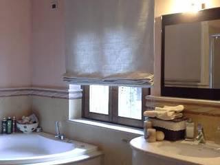 bagno moderno, contemporaneo zinesi design Bagno in stile classico Beige