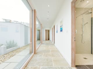 Treasure House, Polzeath | Cornwall Rustic style corridor, hallway & stairs by Perfect Stays Rustic