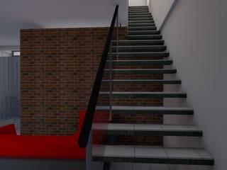 CASA SS001: Casas de estilo moderno por Spacio.Status/Arquitectura