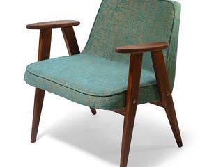 Fotel 366, proj. J. Chierowski, lata 60. od White Mood S.C. Klasyczny