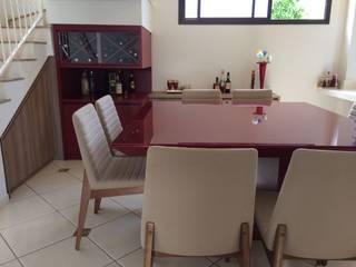 Sala de Jantar e Cozinha por Gabriela Marini Arquitetura e Design Moderno