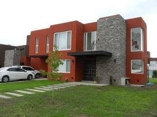Arquitectura y Diseño: Casas de estilo moderno por Jf Arquitectura + Diseño