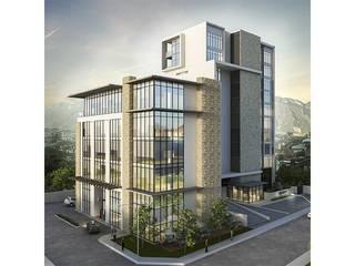 Renders/Logo/Description: Edificios de Oficinas de estilo  por Convirtus BIM