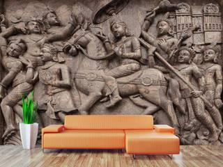 FINE ART WALLPAPER FOR WALLS wallsandmurals BedroomAccessories & decoration Paper White