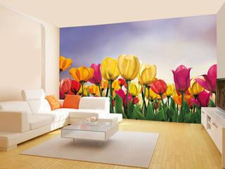 FLORAL WALLPAPER FOR WALLS wallsandmurals BedroomAccessories & decoration Paper