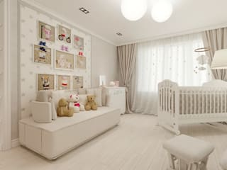 Eclectic style nursery/kids room by Дизайн-бюро № 11 Eclectic