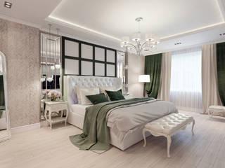 Eklektik Yatak Odası Дизайн-бюро № 11 Eklektik