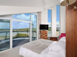 Sea House, Porth | Cornwall Perfect Stays Camera da letto eclettica