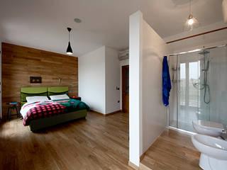 Salvo Lombardo Architetto의  침실