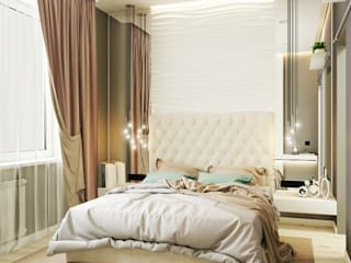 'PRimeART' Eclectic style bedroom Turquoise