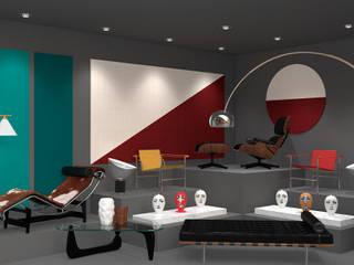 DESIGNERS WINDOWS: Espaços comerciais  por Twelve Four Haus