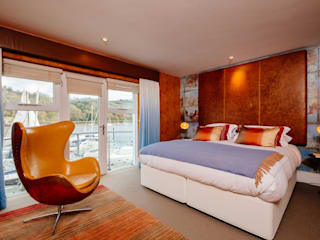 Blue Moorings, Dartmouth | Devon Eclectische slaapkamers van Perfect Stays Eclectisch