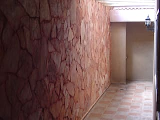 escala1.4 Pasillos, vestíbulos y escaleras de estilo moderno