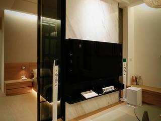 Asian style media room by 璞碩室內裝修設計工程有限公司 Asian