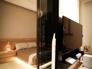 Asian style living room by 璞碩室內裝修設計工程有限公司 Asian