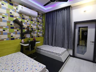 Kids Room:  Bedroom by RAVI - NUPUR ARCHITECTS