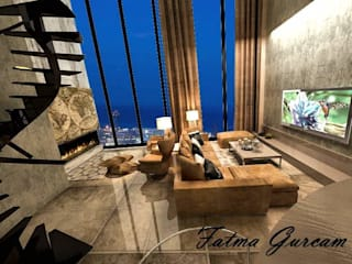 Penthouse Fatma Gürçam İçmekan Tasarım ve Uygulama