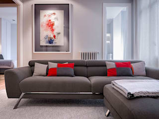 Modern Living Room by SILVIA REGUERA INTERIORISMO Modern
