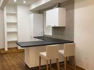 Studio Angius - Pisano KitchenBench tops Kayu White