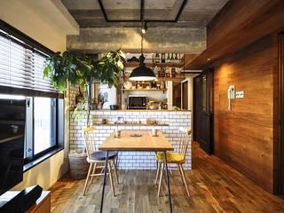 木、アイアン、打ちっぱなし。素材感が映えるヴィンテージ空間 の 株式会社スタイル工房