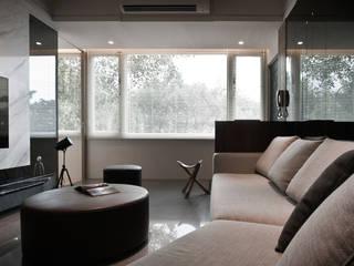 BRAVO INTERIOR DESIGN & DECO JIA STYLE Modern living room by 璞碩室內裝修設計工程有限公司 Modern