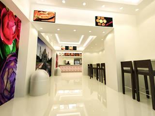 Restaurantes de estilo  por Reda Essam, Moderno