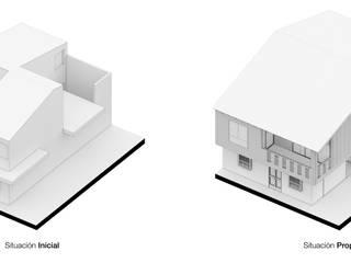 Modern Houses by Pequeña Escala Arquitectura Modern