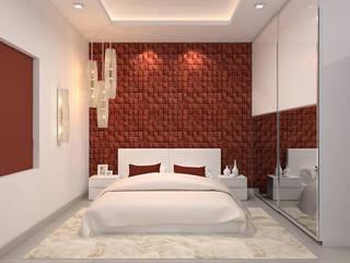 Mandeep kumar's Residence:   by Depanache Interior Architects