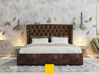 Penintdesign İç Mimarlık 臥室床與床頭櫃