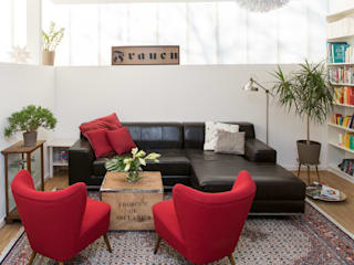 Modern Living Room by THE INNER HOUSE Modern