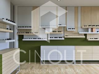 Moderne Ladenflächen von CINOUT - Obras, Design e Manutenção Lda. Modern